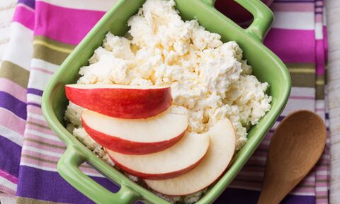 cottage cheese with apple for weight loss