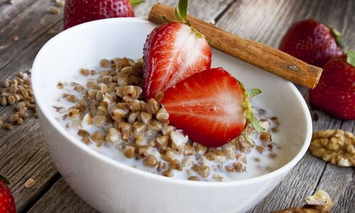 diet on kefir and buckwheat for weight loss