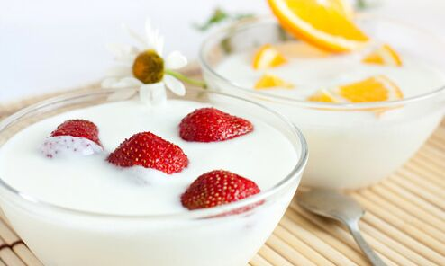 kefir with berries for weight loss