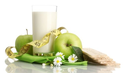 kefir with fruit for weight loss