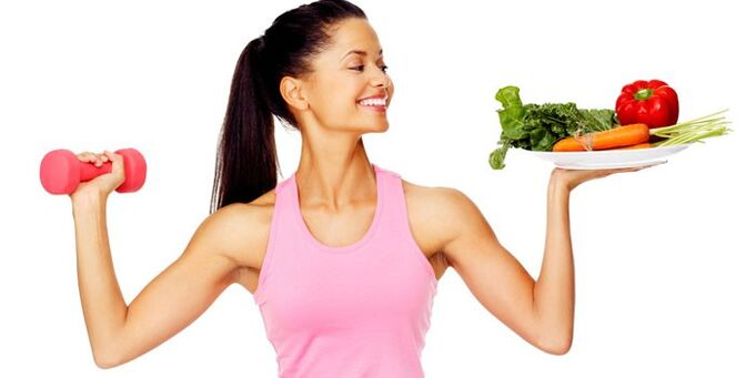 healthy food and fitness for weight loss in a month