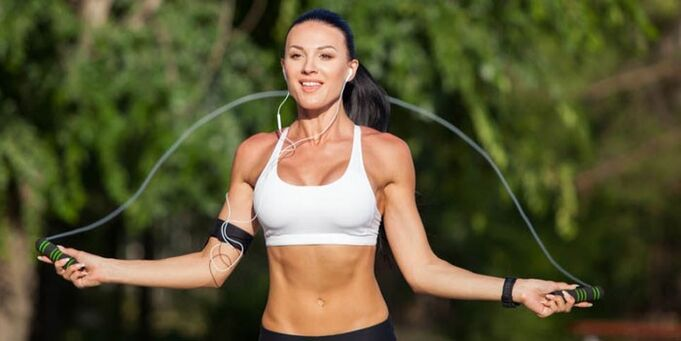 rope exercises for weight loss in a month